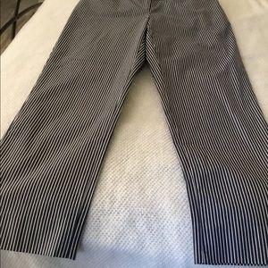 Jones New York Pants - Jones New York stretched striped pants- Size 4